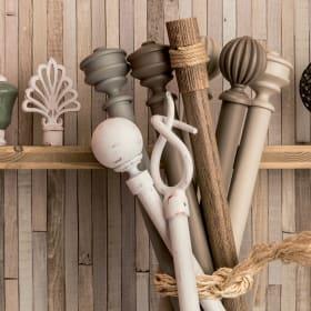 Supporti e accessori per i bastoni per tende