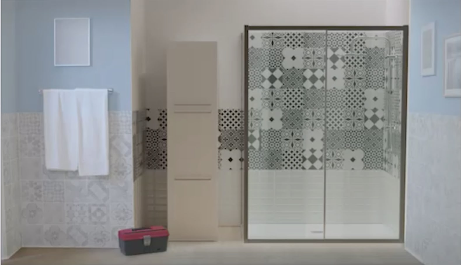 Vasca Da Bagno Murata : Sostituzione vasca con doccia soluzioni leroy merlin