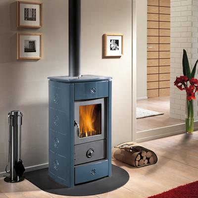 Image of Stufa a legna Marella 6.6 kW blu