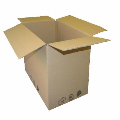 Image of Scatola da imballaggio 1 onda L 38 x H 28 x P 28 cm