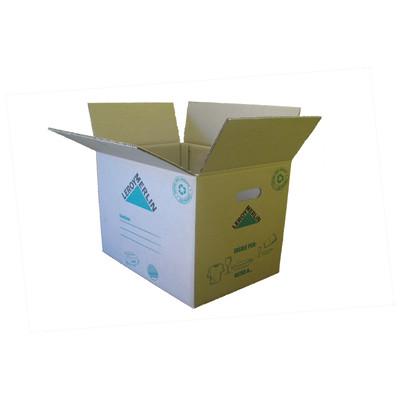 Image of Scatola da imballaggio 2 onde L 40 x H 30 x P 30 cm