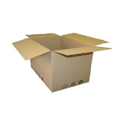 Image of Scatola da imballaggio 1 onda L 60 x H 40 x P 40 cm