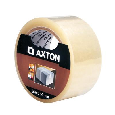Image of Nastro adesivo per imballaggio AXTON L 66 m x P 50 mm