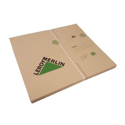 Image of Scatola da imballaggio 2 onde L 50 x H 33 x P 34 cm