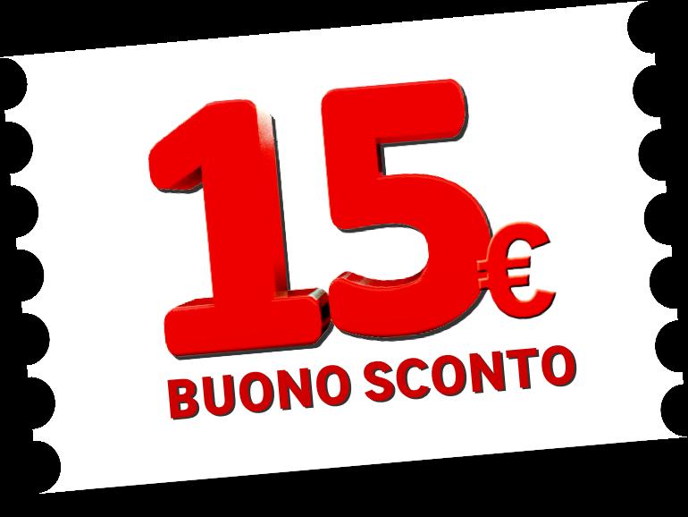 Buono 15€ IDEAPIÙ