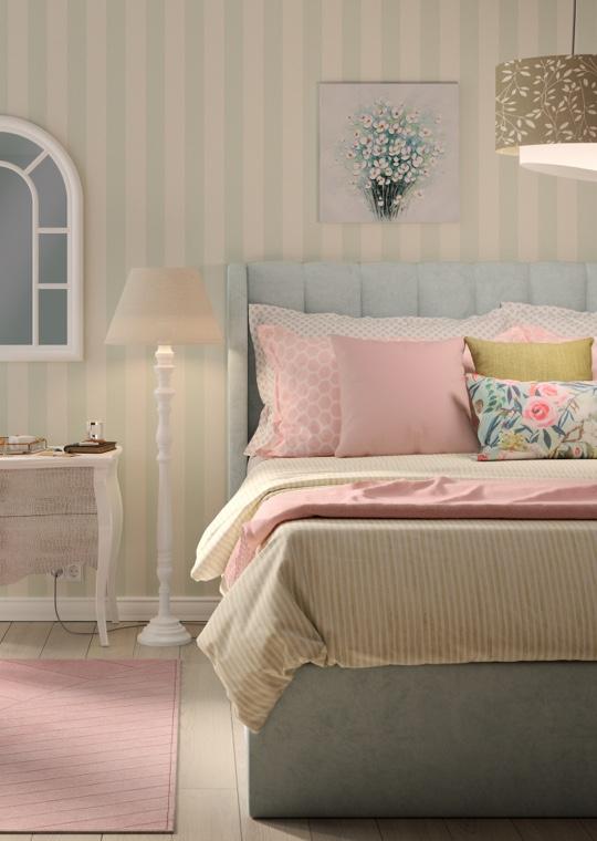 Camera da letto - Una camera da letto in stile Country Charme