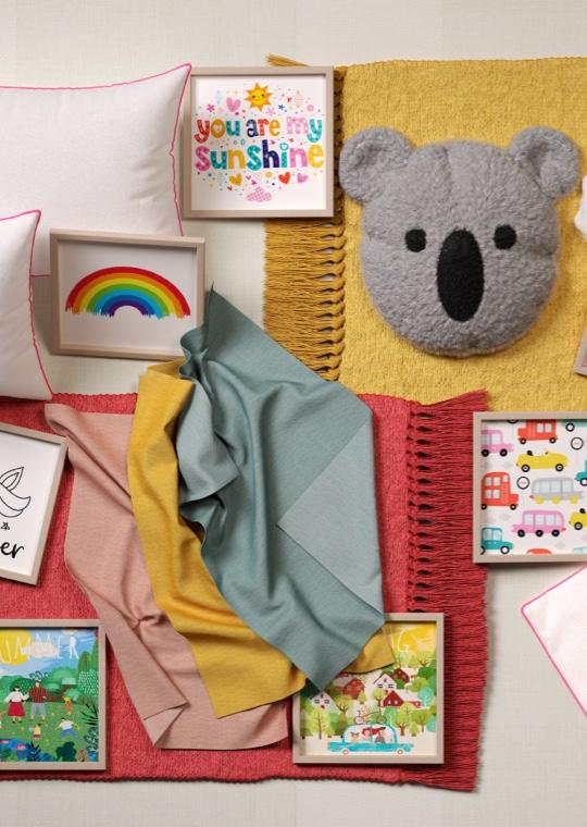 Camera da letto - Decorare una cameretta Arcobaleno