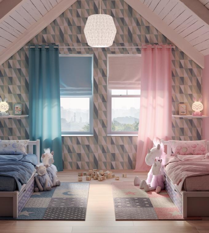 Camera da letto - Una cameretta per due