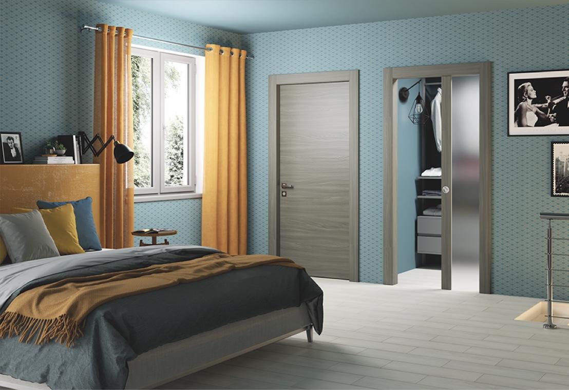 Camera da letto - Porte interne eleganti