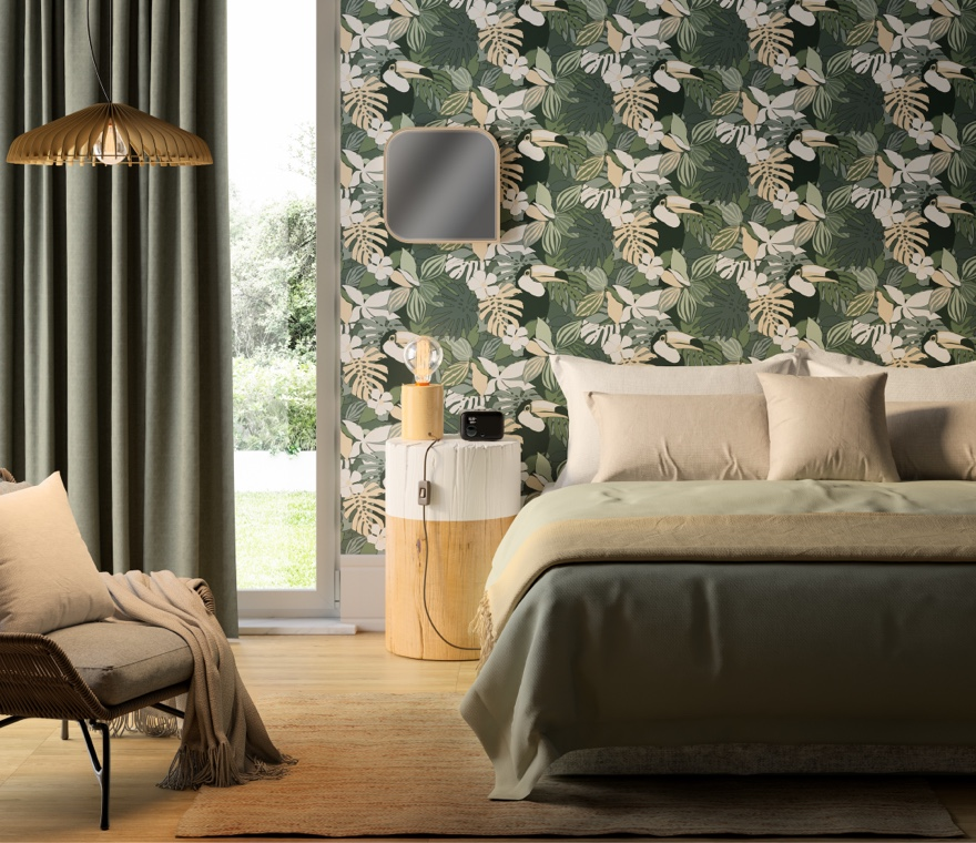 Camera da letto - Una camera da letto in stile Naturalism