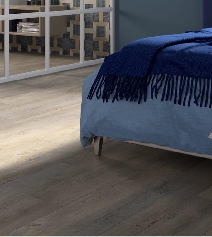 Camera da letto - Pavimento vinilico e super versatile