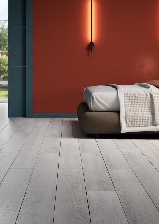 Camera da letto - Pavimento vinilico, facile e versatile