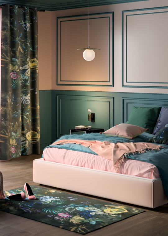 Camera da letto - Stile Glam Flower per la camera da letto