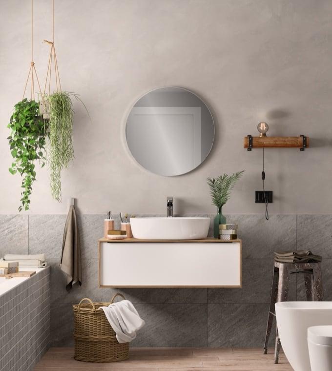 Bagno - Arredare un bagno in stile naturale