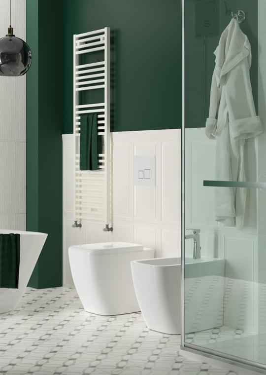Bagno - Bagno effetto marmo, lusso contemporaneo a casa tua