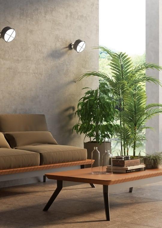 Giardino - Arredare un piccolo patio con contrasti di stile