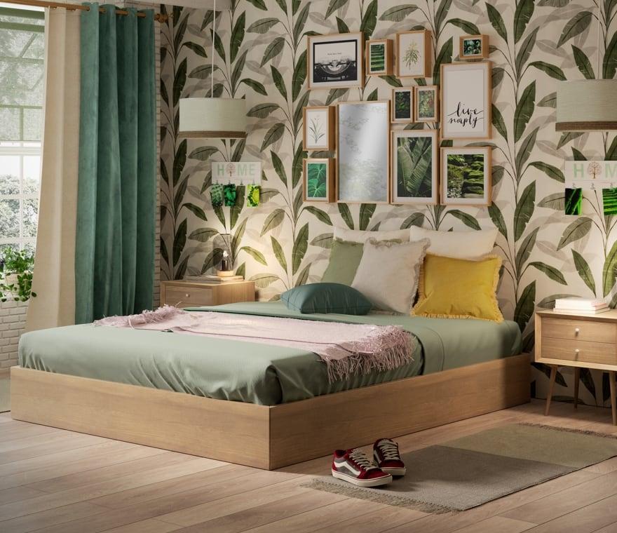 Tendenza - Arredare la camera da letto in stile Nature