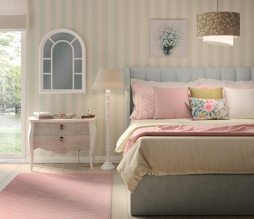Tendenza - Una camera da letto in stile Country Charme
