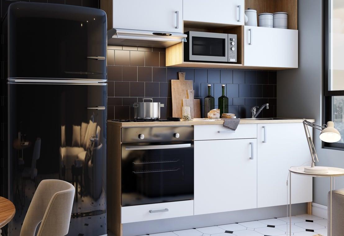 Cucina - Arredare una cucina piccola in cui ogni cosa ha il suo posto