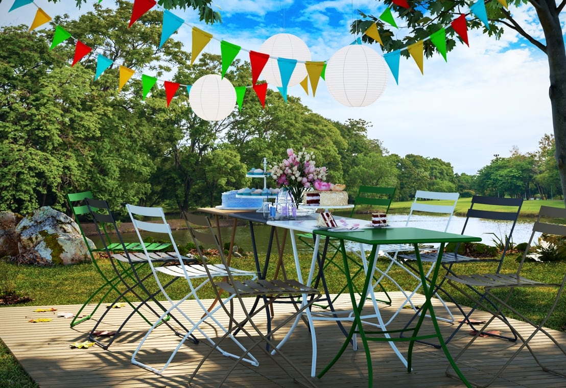 Giardino - Organizza una bella festa in giardino