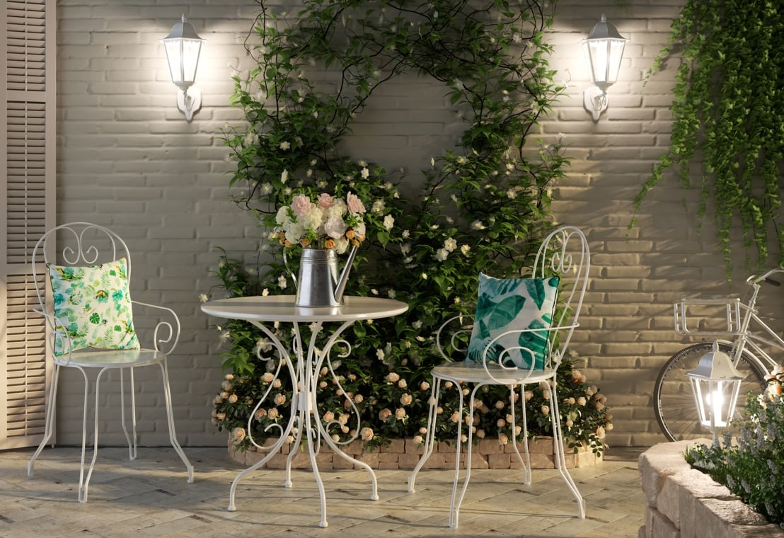 Giardino - Giardino shabby chic: atmosfere romantiche outdoor