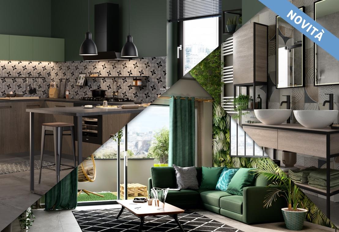 Casa industrial green