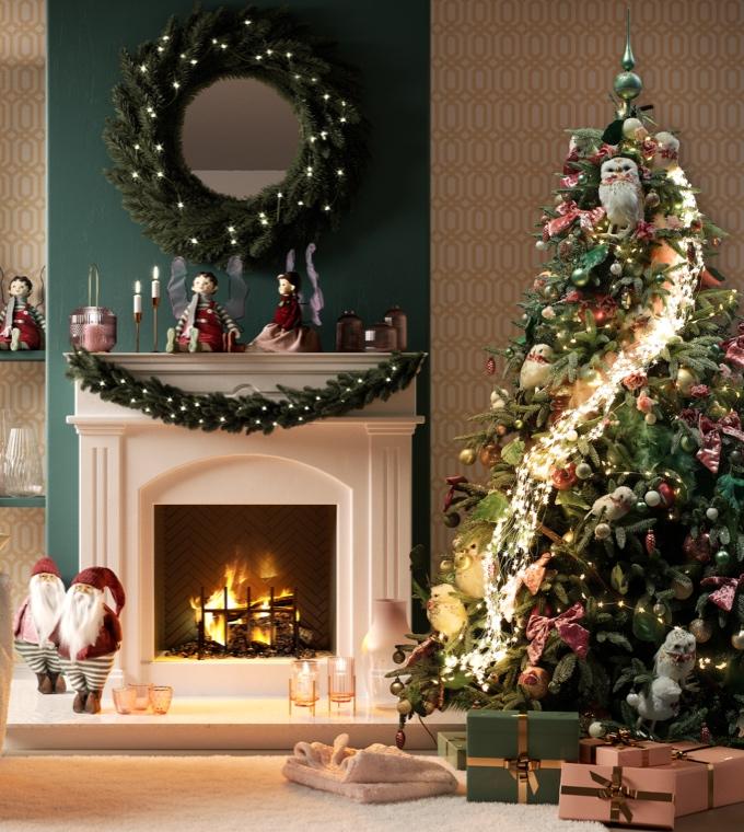 Natale - Un Natale romantico in stile shabby chic