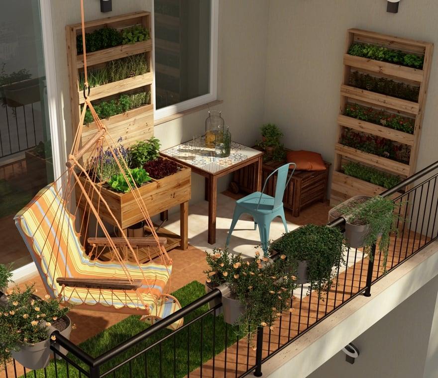 Giardino - Orto sul balcone, uno spazio da coltivare anche in città