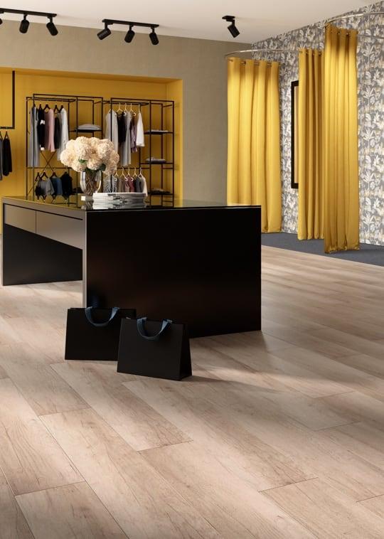 Business - Pavimento effetto legno che scalda e arreda