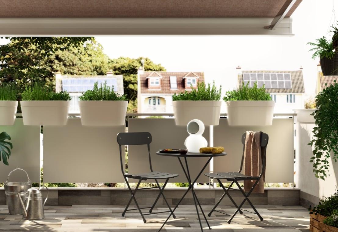 Giardino - Un piccolo balcone arredato per due