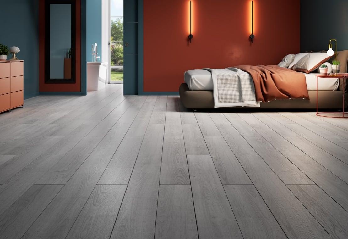Living - Pavimento vinilico, facile e versatile