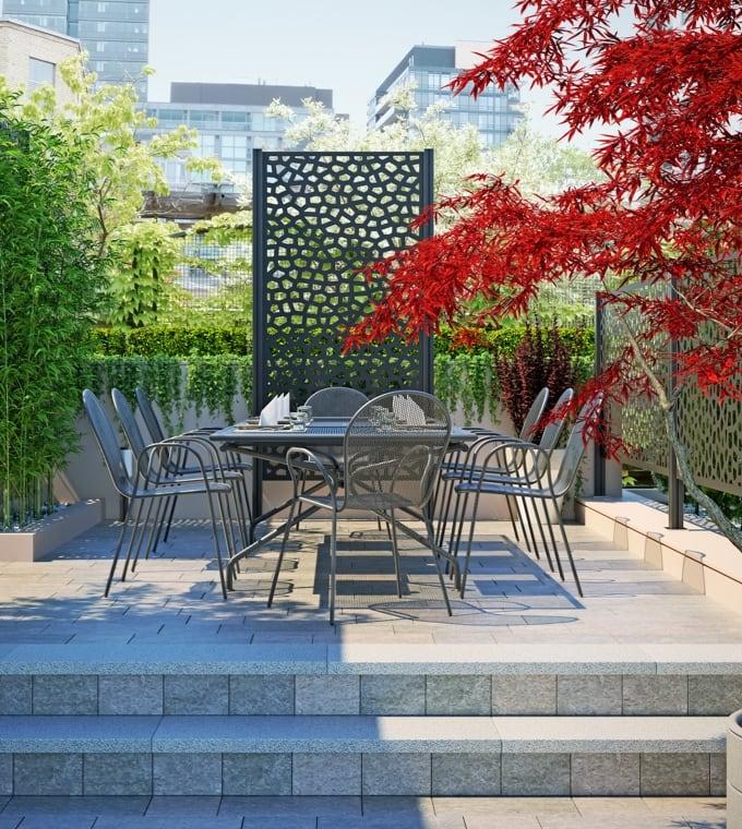 Giardino - Organizzare il terrazzo per cucinare all'aperto