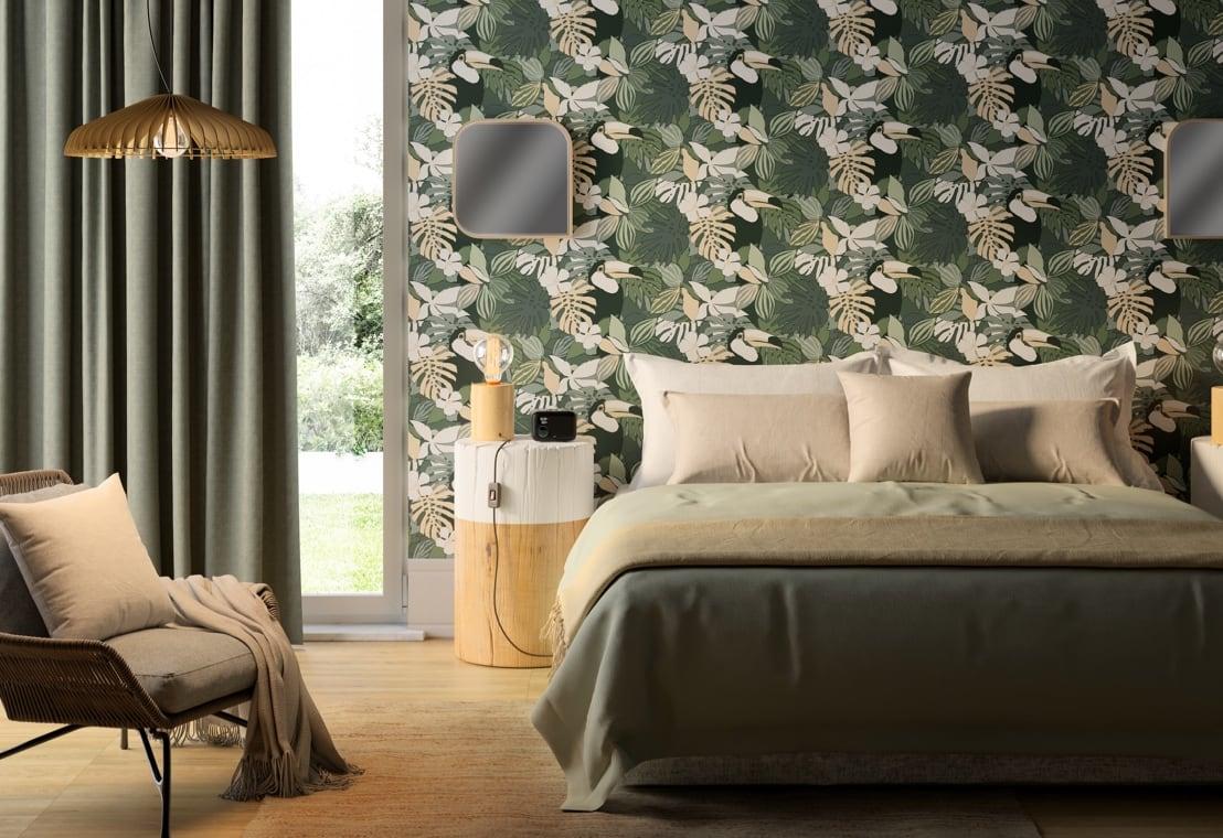 Tendenza - Una camera da letto in stile Naturalism