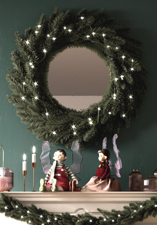 Natale Sottobosco dettaglio