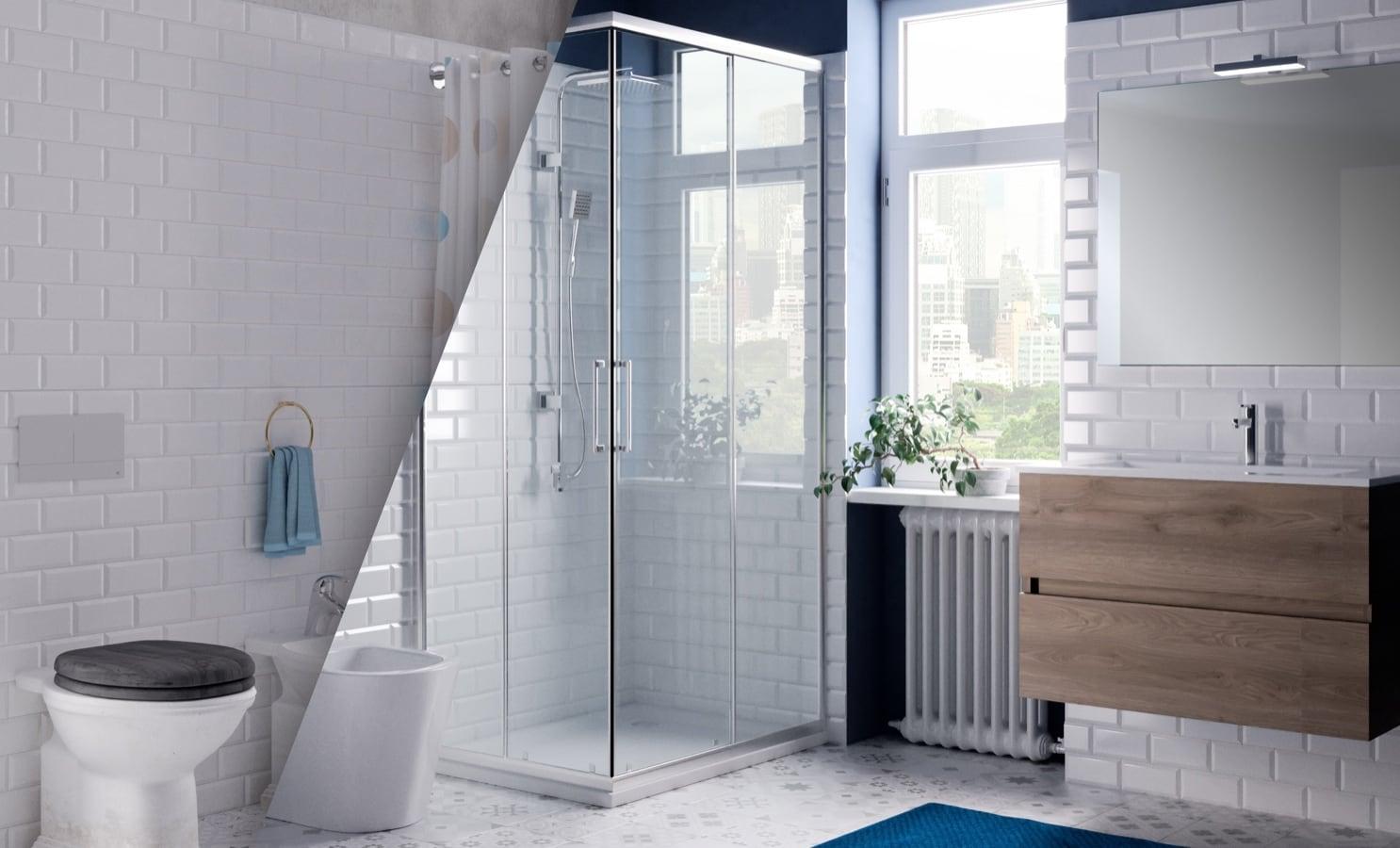 Rinnoviamo il tuo bagno in 1 solo giorno