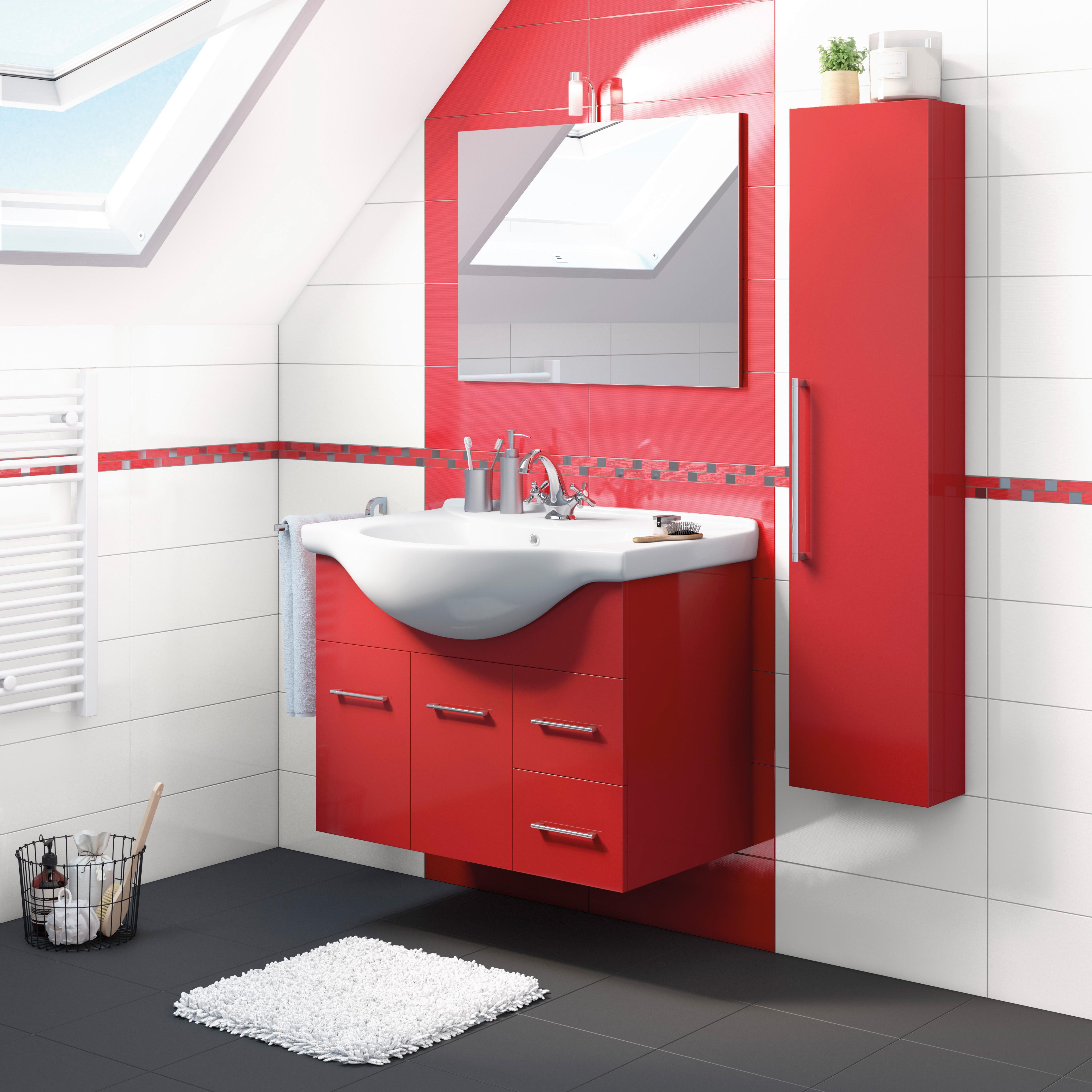 Emejing Mobile Bagno Rosso Images - Home Design Ideas 2017 ...