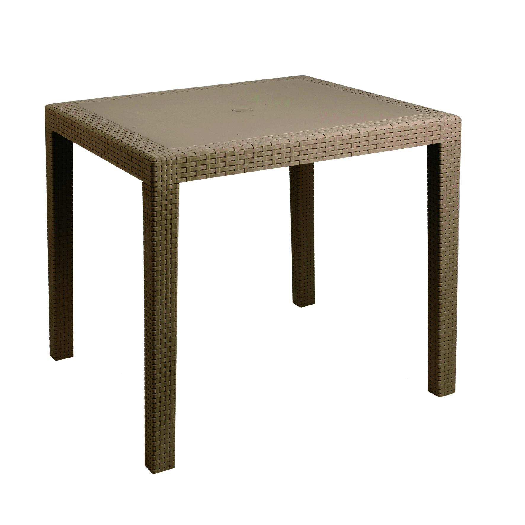 Tavoli con sedie plastificati con rattan for Sedia regista ikea
