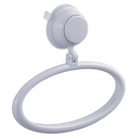 Porta salviette ad anello Vesuvio bianco lucido L 18 cm