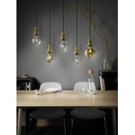 Set di 8  lampadine LED, E27, Goccia, Ambra, Luce calda, 7W=420LM (equiv 36 W), 320° , OSRAM