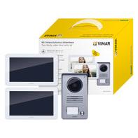 Videocitofono con filo bifamiliare  ELVOX VIMAR K40916 2 fili