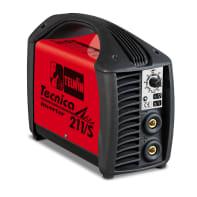 Saldatrice inverter TELWIN Tecnica 211/S mma, tig 170 A 5000 W