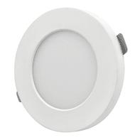 Faretto fisso da incasso tondo Valentine in plastica, bianco, diam. 11.3 cm 1.3x11.3cm LED integrato Lampadina non inclusaW 450LM IP20