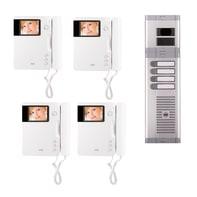 Videocitofono con filo bifamiliare  URMET 956/74 4 fili
