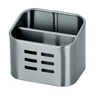 Portaspugna grigio L 10.5 x H 8.5 x P 8.4 cm