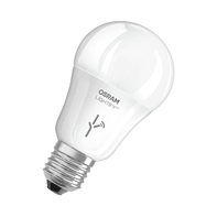 Lampadina smart lighting LED, WIFI, E27, Goccia, Opaco, CCT, 9.5W=810LM (equiv 60 W), 190° , OSRAM