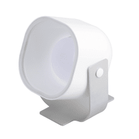Faretto singolo JE710109 bianco, in plastica, LED integrato 35W 810LM IP20 TAO