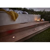 Faretto da incasso da esterno tondo Thaisa LED integrato 5 x 5 cm  diam. 5 cm 1,5W 30LM 3 x IP67