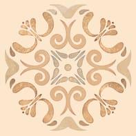 Piastrella per rivestimenti Patine 15 x 15 cm sp. 7.5 mm arancione e beige