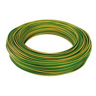 Cavo elettrico BALDASSARI CAVI 1 filo x 6 mm² Matassa 100 m giallo/verde