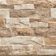 Piastrella per rivestimenti Cuenca 25 x 75 cm sp. 9.5 mm marrone